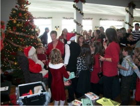 Olympia Country and Golf Club Santa Breakfast