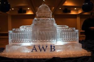 Washington state capitol ice sculpture