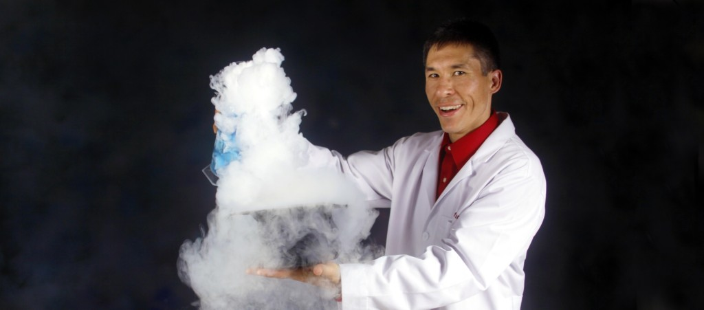 Jeff's Science Magic show is featured at dozens of libraries throughout western Washington and beyond in summer 2014