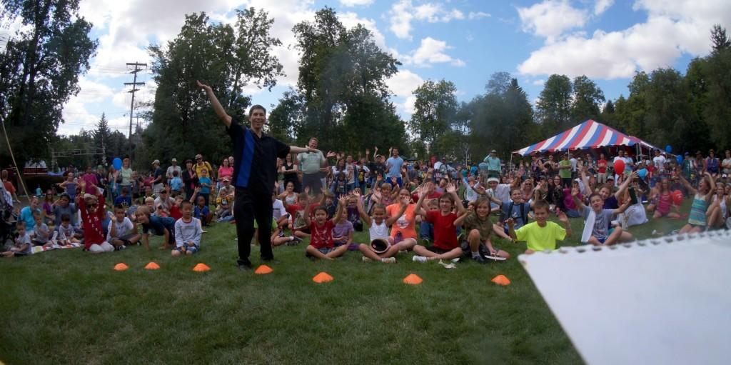 Lentil Festival magician Jeff Evans