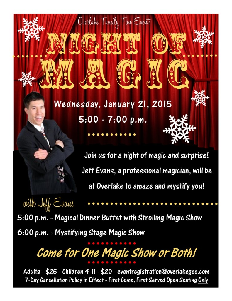 Overlake Golf Night of Magic