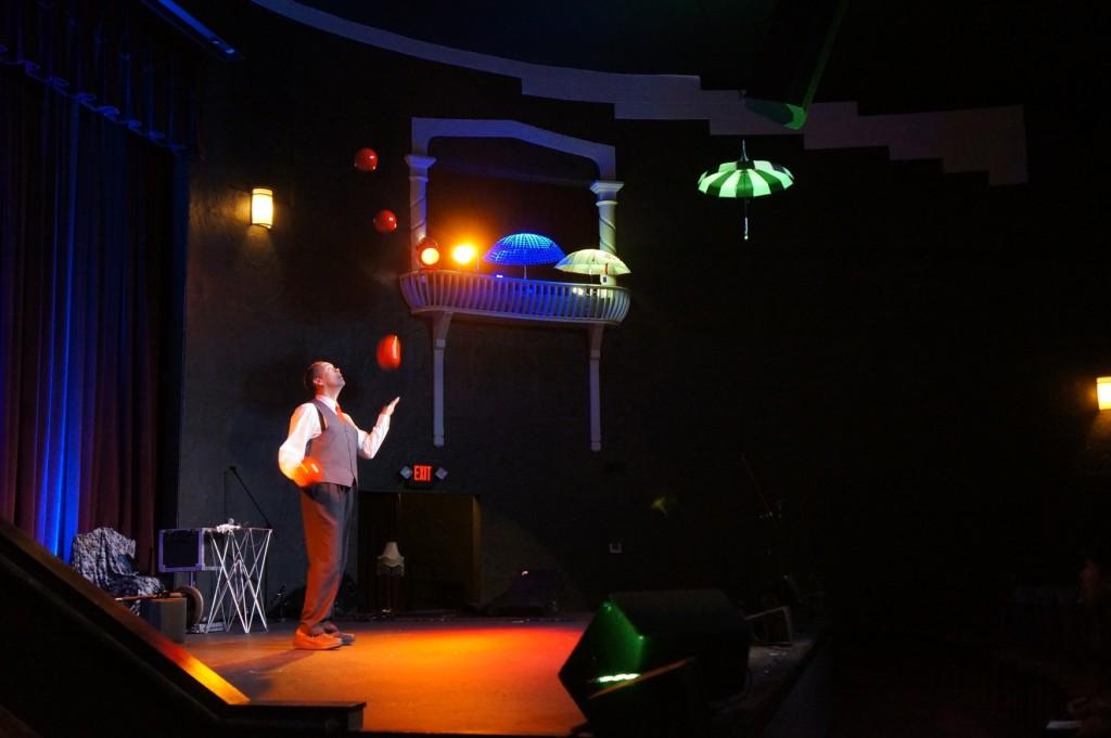 Artistry in motion with juggler Steven Ragatz
