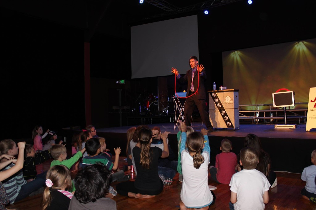South Sound Church's Family Fun Friday with magician Jeff Evans