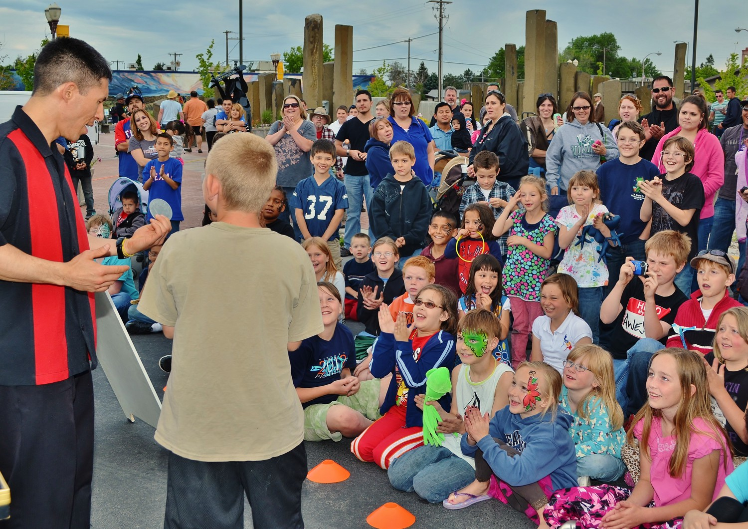 Moses Lake Spring Fest magic