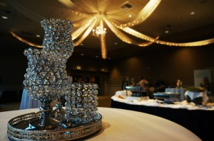 Epic Event Decor made the Indian Summer Golf & Country Club banquet room sparkle