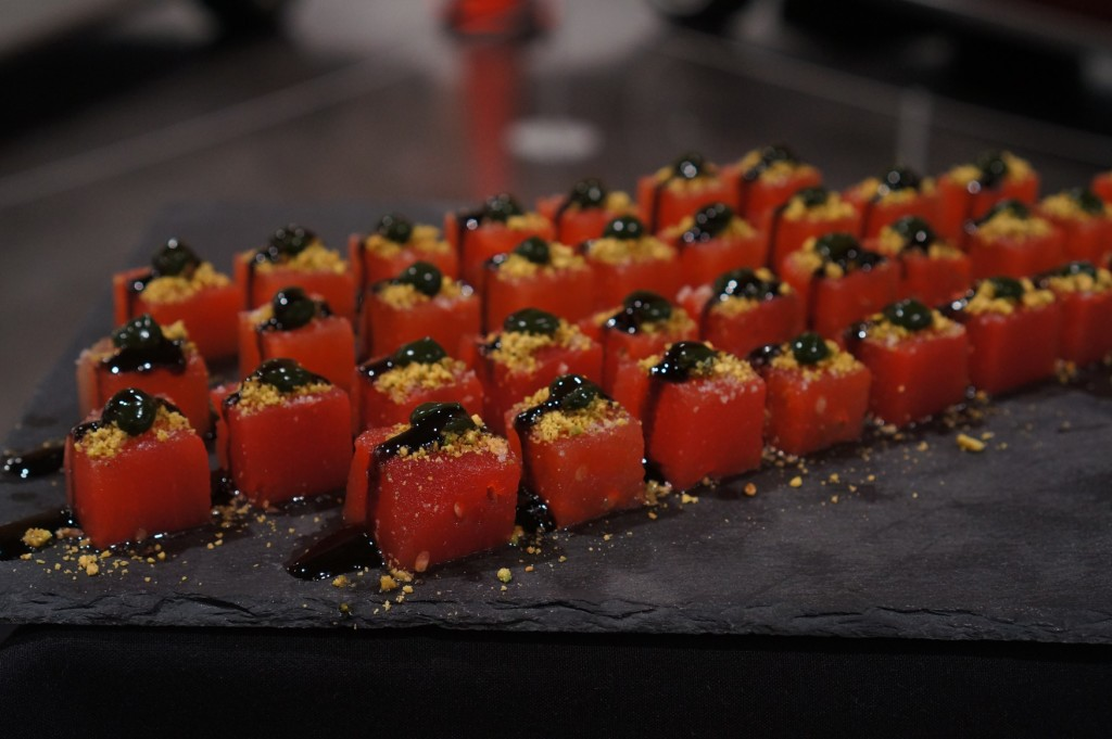 Delectable catering elegantly presented