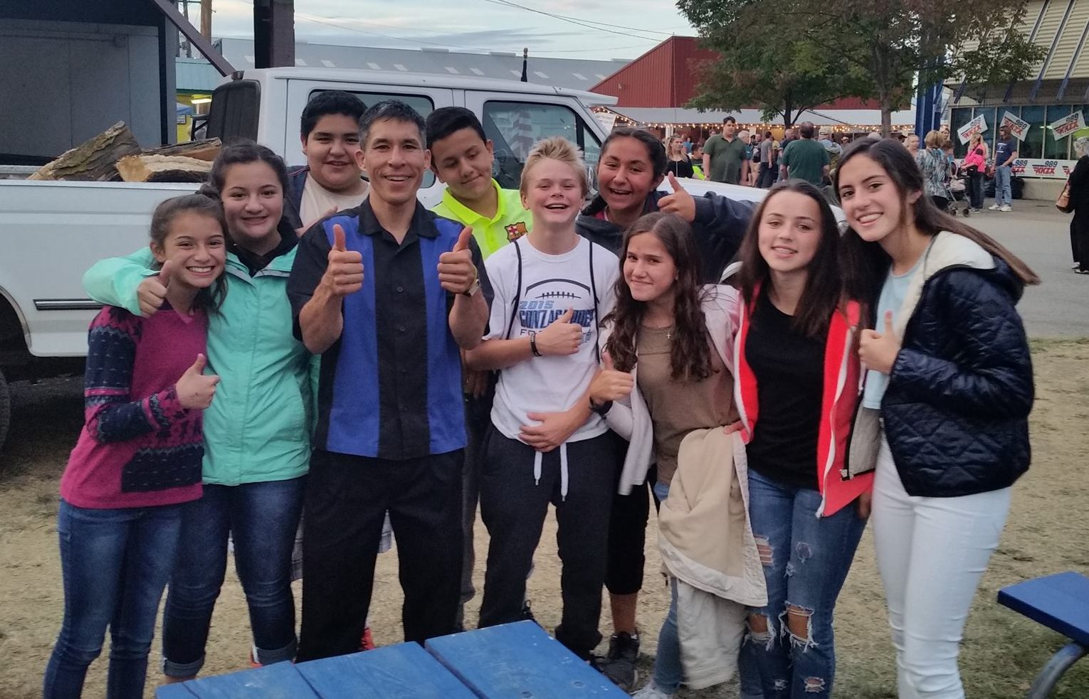 """It was great to see you again at the Spokane County Fair last night! Our grand kids and their friends (some who are exchange students from Mexico) thoroughly enjoyed the amazing magic you performed before their eyes! You helped make their Fair experience memorable! Thank you for the pleasure of your company!"" AnneMarie DeCaro?"