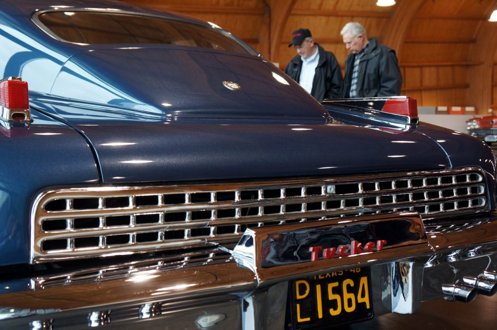 Visitors to the LeMay-America's Car Museum take a trip down memory lane
