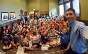 Show time at the Chehalis Timberland Library
