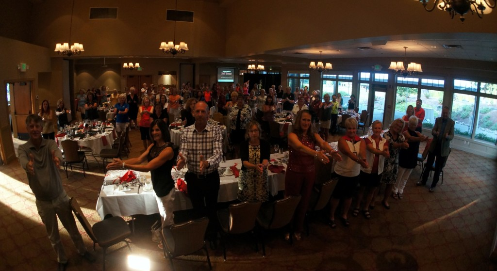 View from the stage at the Fircrest Golf Club ~ @amazement