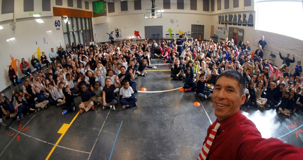EduMazement school assembly programs receive rave reviews from teachers, administrators, parents... and kids!